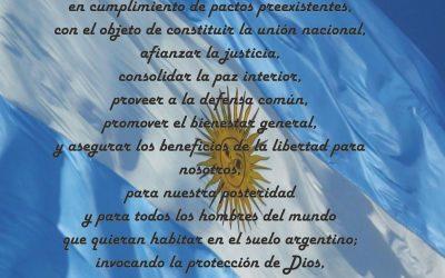 – Promesa de lealtad a la Constitución Nacional